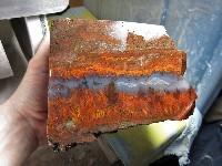 Large Plume Agate Block